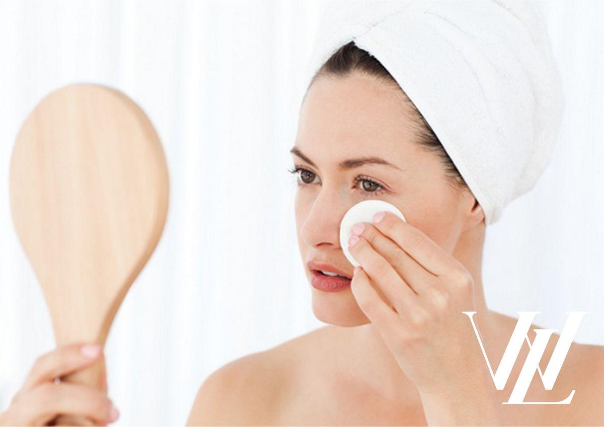 Вечернее очищение кожи