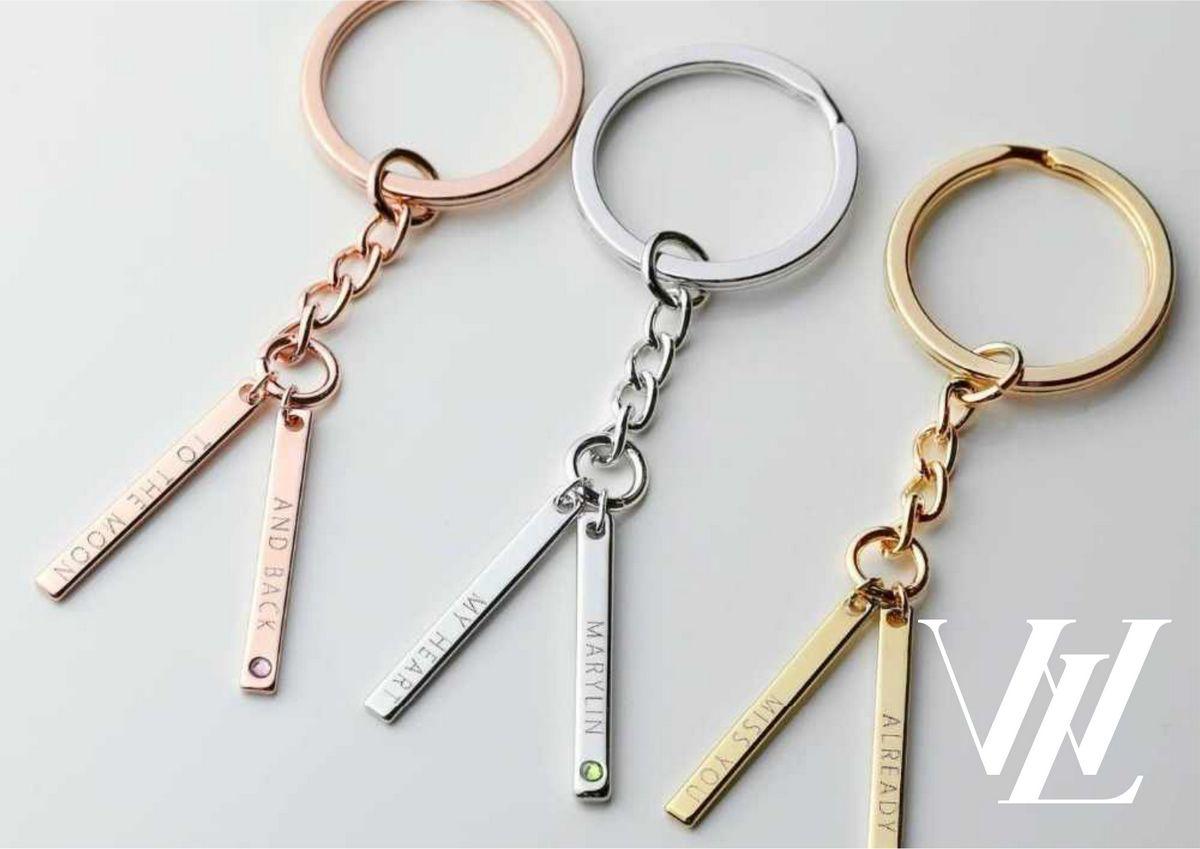 Персонализированная цепочка для ключей