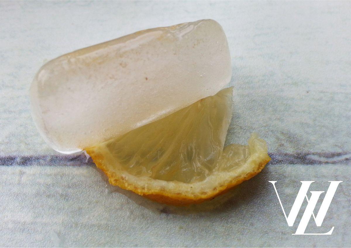 4. Лимонный лед