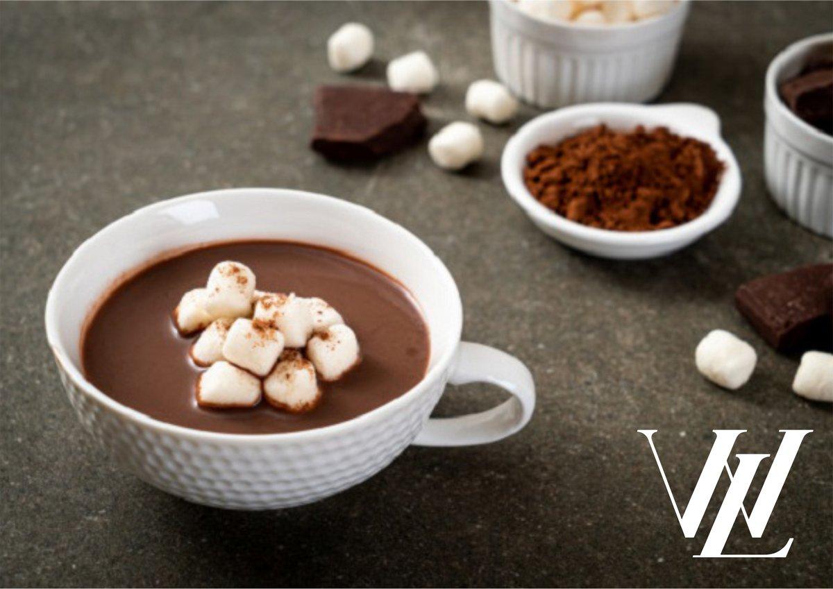 Праздничный горячий шоколад