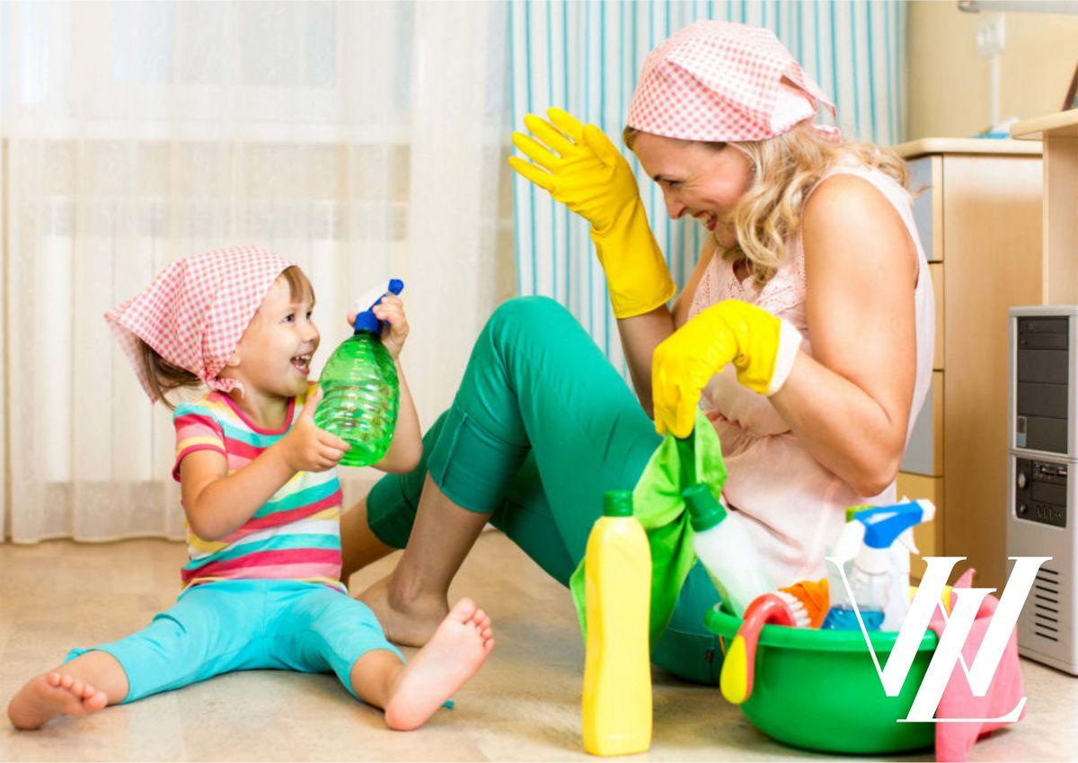 Как научить детей помогать по дому: 7 советов, проверенных временем