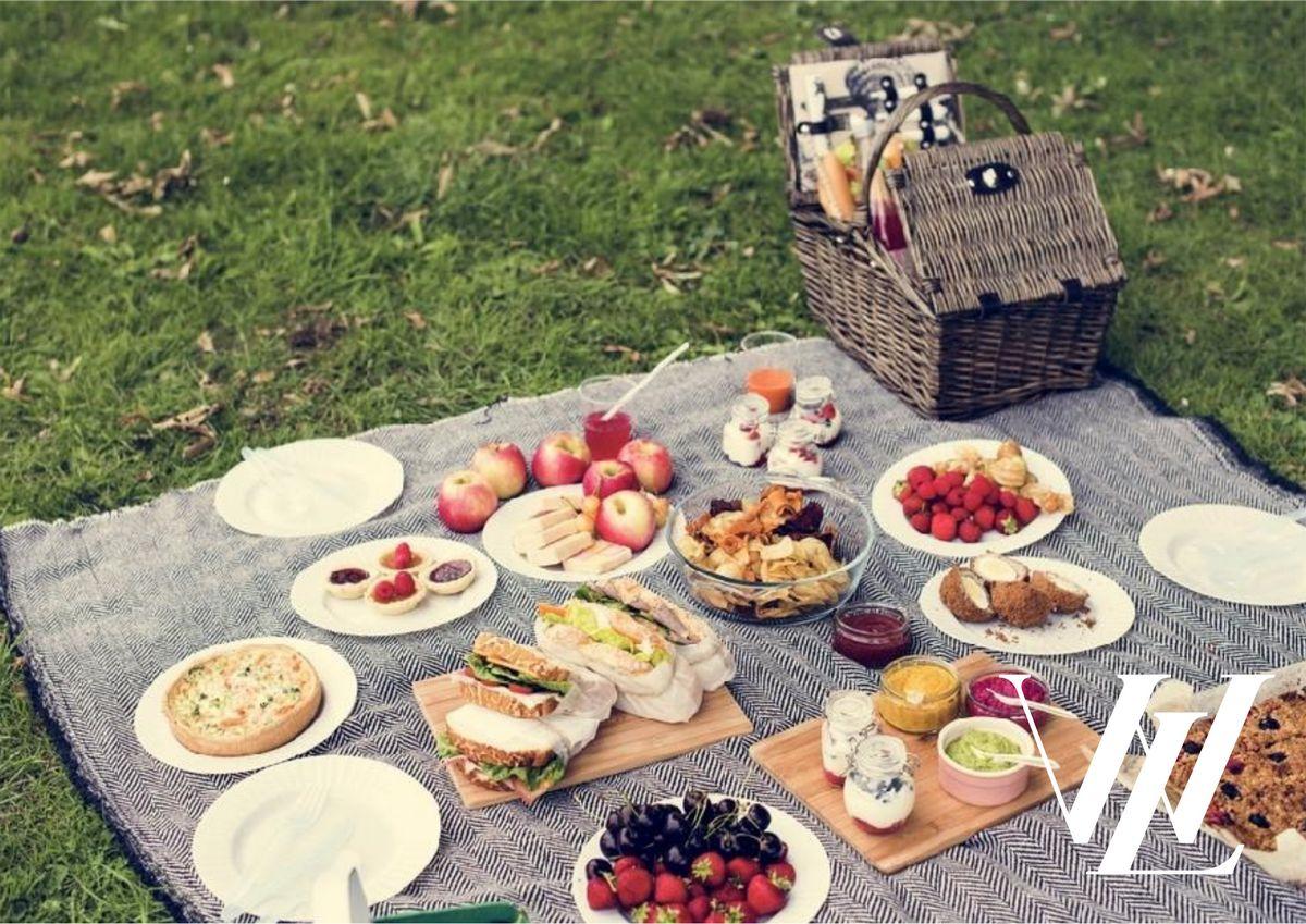 Сытная пища на пикнике - залог хорошего отдыха