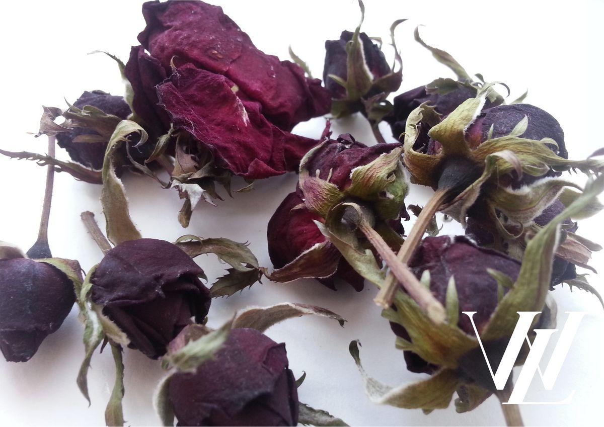 Как высушить лепестки роз